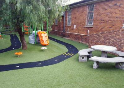 New Benches in Play Area