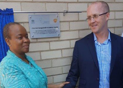 Gauteng Health MEC  Gwen Ramokgopa was proud to open the new Paediatric Outpatient and Maternal Facility building at the Chris Hani Baragwanath Academic Hospital